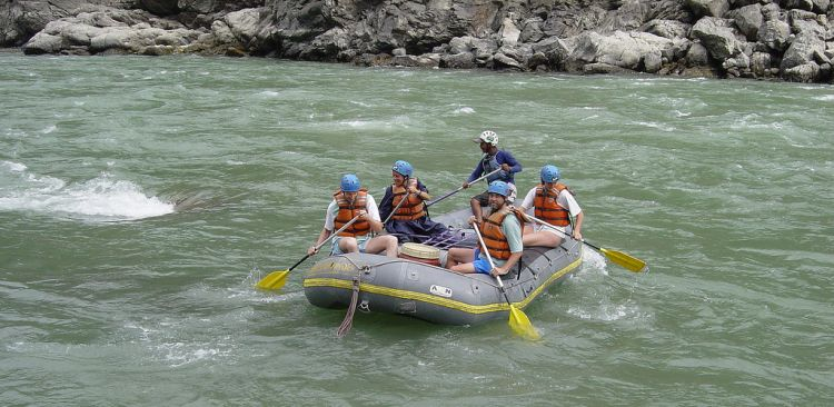 River Rafting in Nepal.