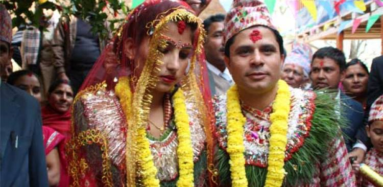 Traditional Way Marriage in Nepal