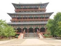 Korean Temple at Lumbini